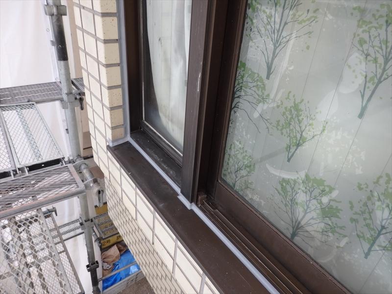 窓まわり等のシールもしっかりとやり直しました。