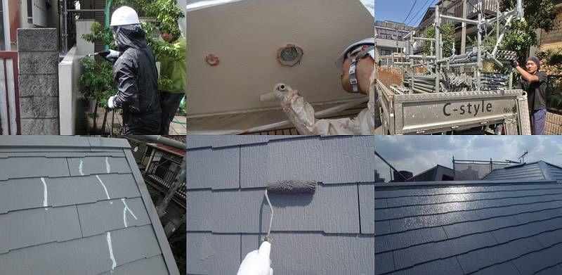 世田谷区K様邸・外壁塗装工事の概要