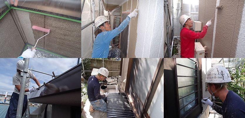 相模原市T様邸・外壁塗装工事の概要