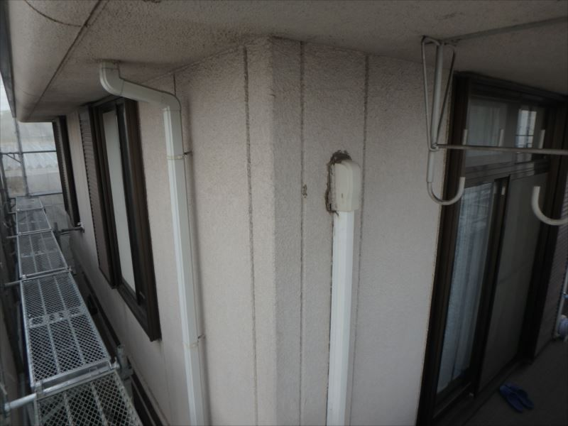 施工前 外壁(2階)