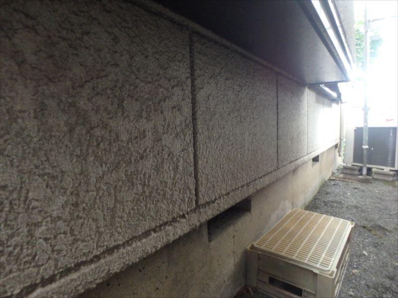施工前 外壁(1階出窓下)