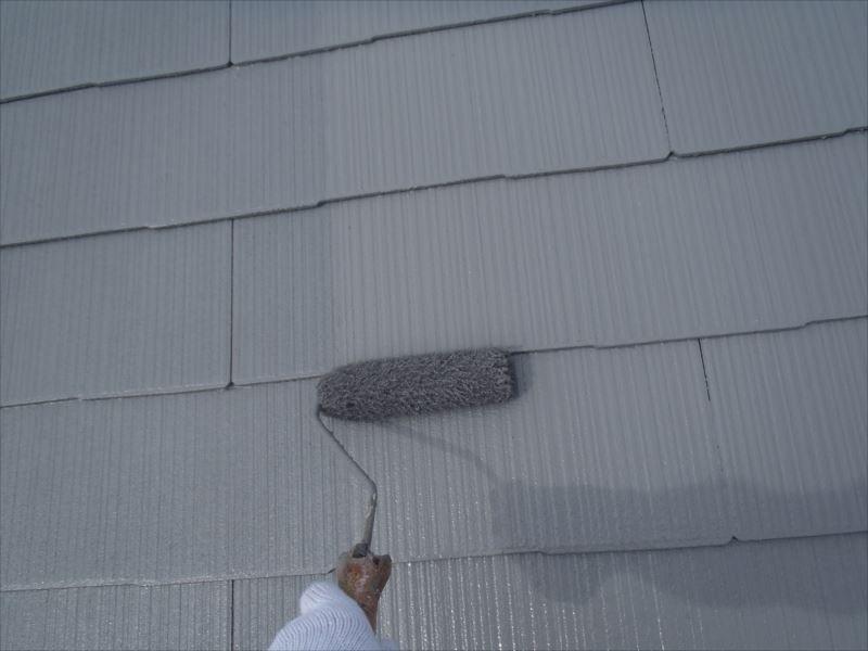 屋根上塗り クールタイトSi