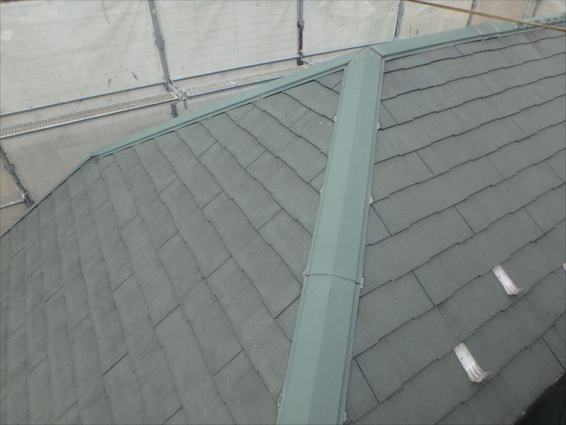 屋根塗装工事(ビフォー)