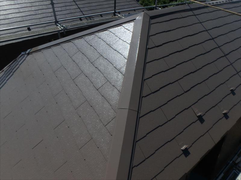 屋根塗装工事(アフター)