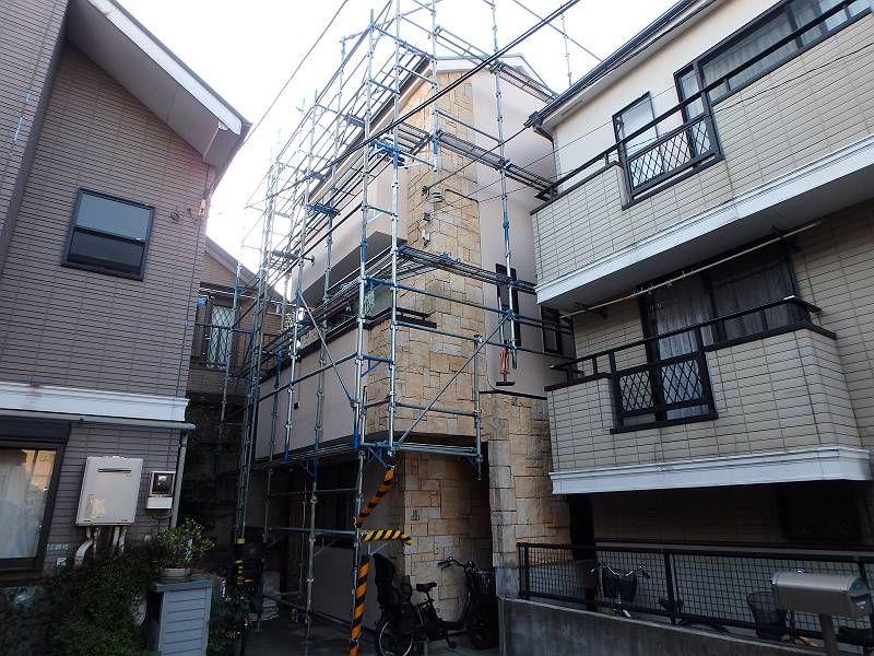 世田谷区U様邸【防水層上塗り、撤去前チェック】