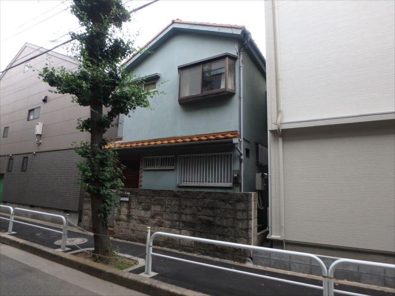 外壁塗装工事前(ビフォー)