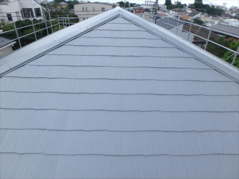 屋根塗装(アフター)