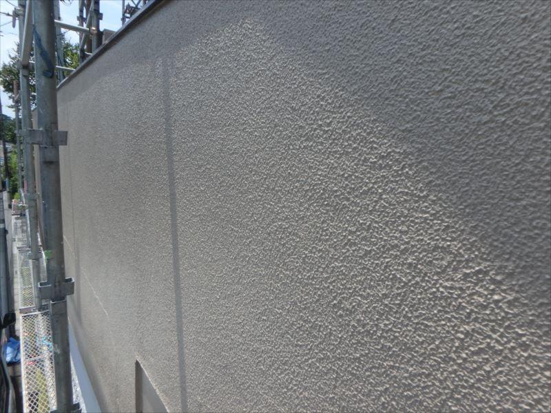 施工後の外壁です