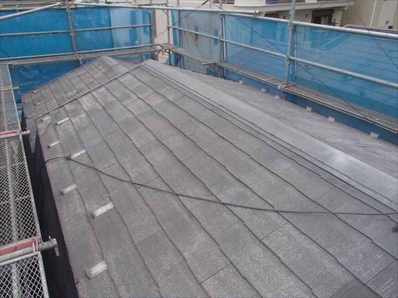 洗浄後の屋根です。