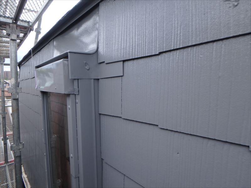 屋根の施工後です