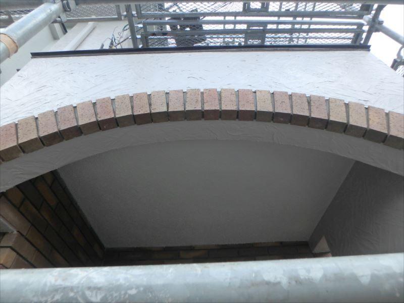 玄関天井施工後