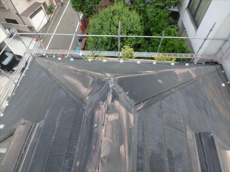 屋根塗装(ビフォー)