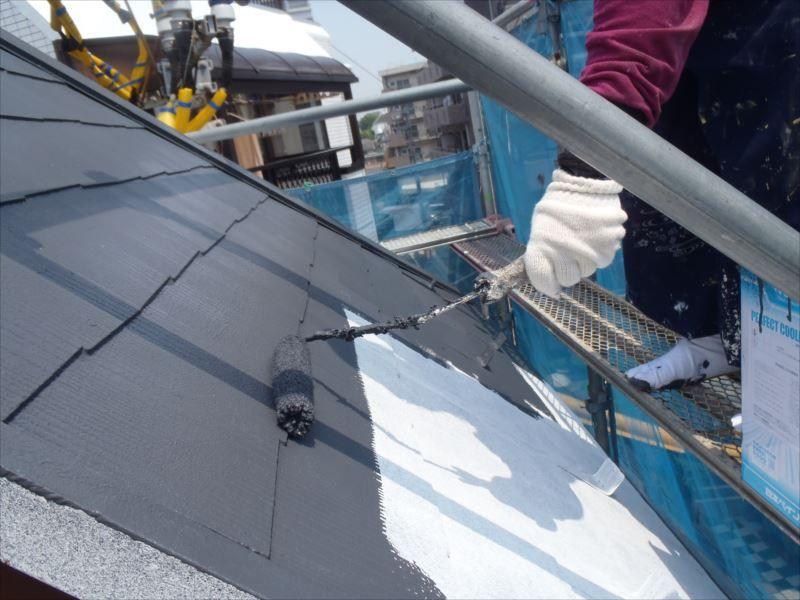 屋根中塗り パーフェクトクーラーベスト