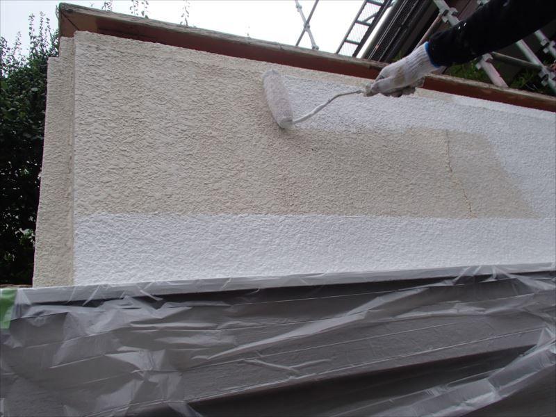木部塗装 帯板