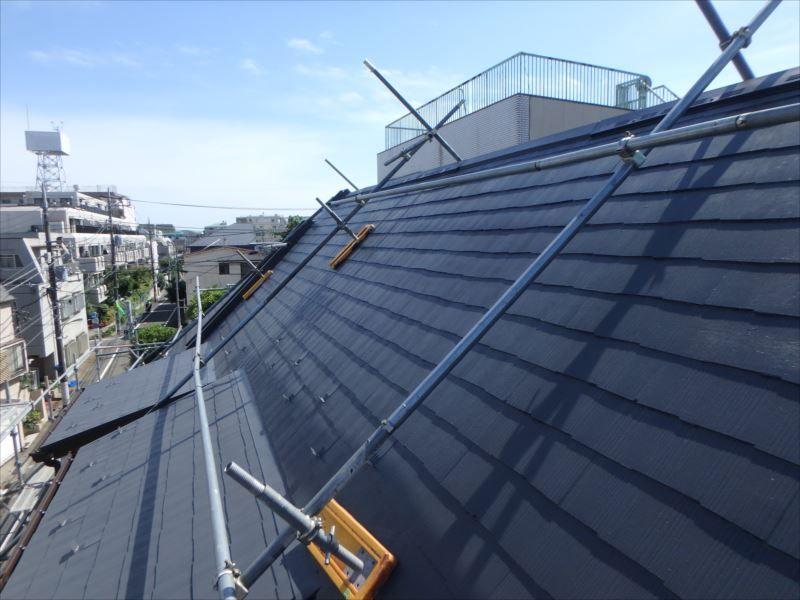 屋根の施工後です。