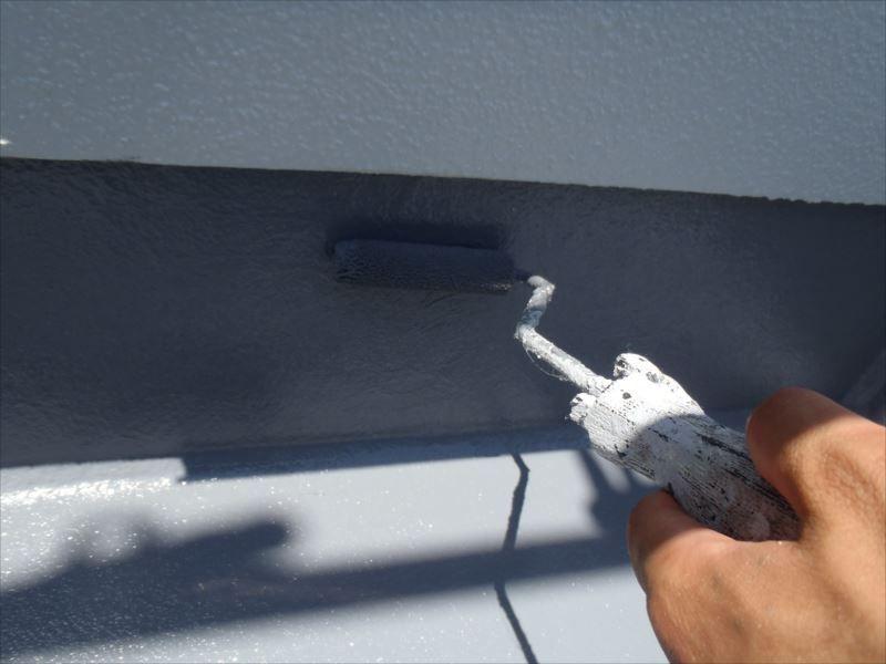 バルコニー防水塗装 上塗り