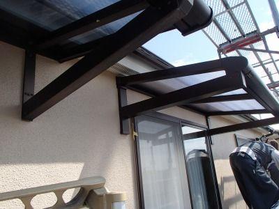 バルコニー屋根・テラス屋根の新設