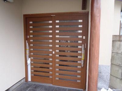 リフォーム玄関ドア交換工事