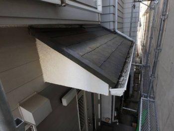 作業前チェック 玄関屋根