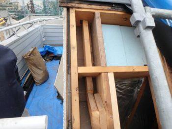 屋根工事 下地補強