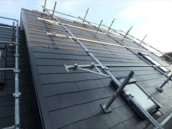 施工後の屋根です。
