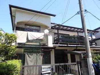 杉並区O様邸 |10年おきの定期的な外壁塗装でお家は長持ちします!