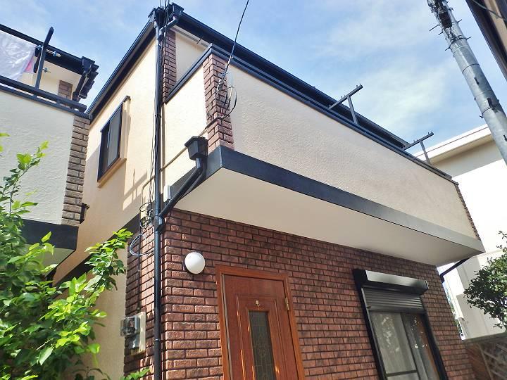 世田谷区N様邸 外壁屋根塗装工事