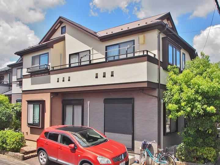 世田谷区M様邸 外壁屋根塗装工事