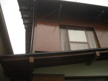 前回の外壁塗装工事後