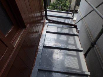 下屋根塗装 完成