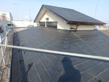 作業前の屋根の状態