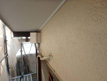 作業前の外壁の状態