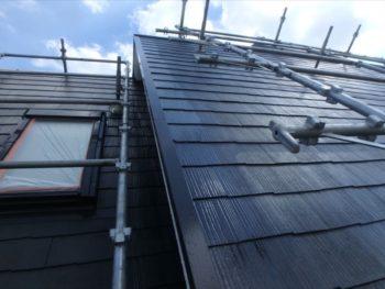 屋根上塗り 施工後
