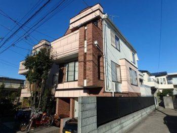 世田谷区S様邸 塗装工事後(アフター)