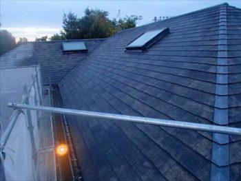 屋根塗装N様邸水洗い【南面】