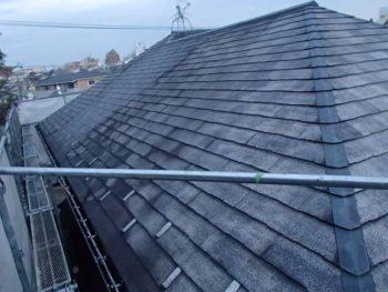屋根塗装N様邸水洗い【北面】