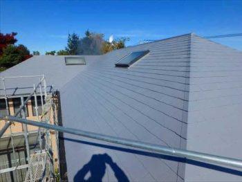 屋根塗装完成【南面】