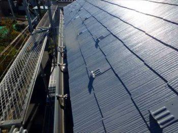 屋根塗装完成【北面】