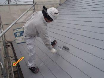 屋根塗装の足場について