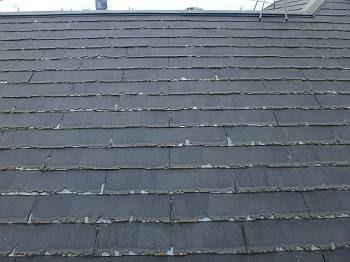 屋根の下地は人が乗っても凹むことは無く問題は無いので、屋根はパミールだけが悪いようです。