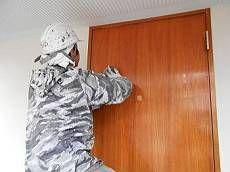 木製扉塗装