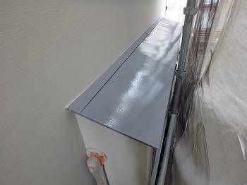 出窓屋根塗装後
