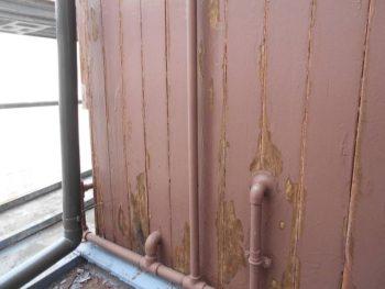 外壁下地処理 木部外壁