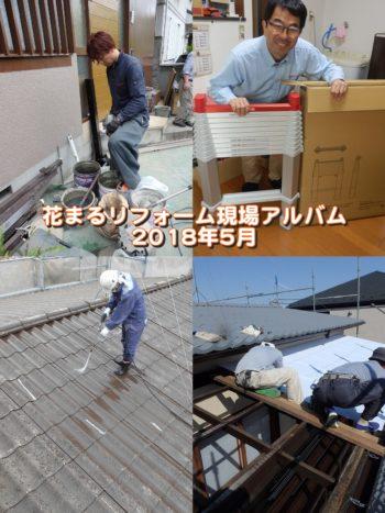 5月の外壁塗装の現場から~【現場アルバム】