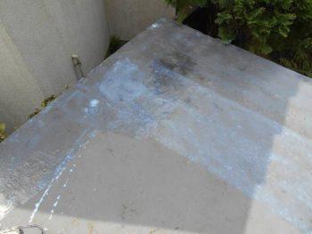 防水塗装の下塗り