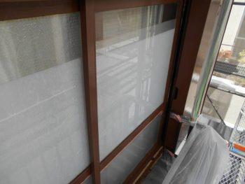 木製窓枠塗装