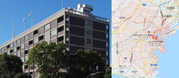 横浜市役所地図