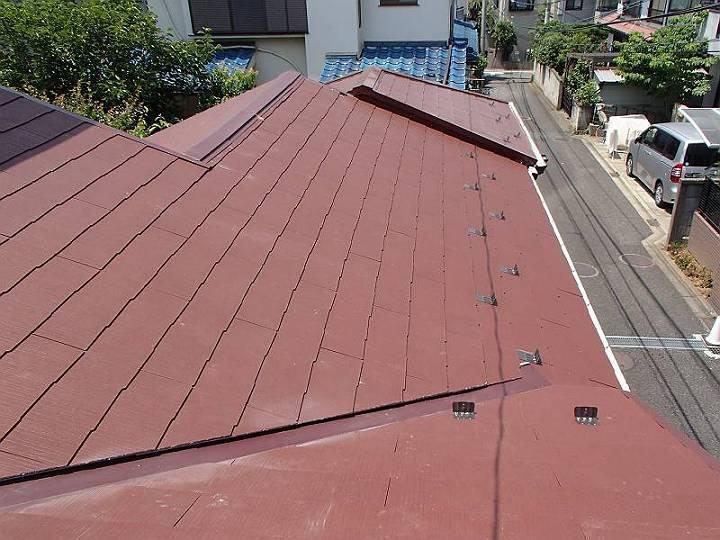 屋根を日本瓦からスレート屋根に