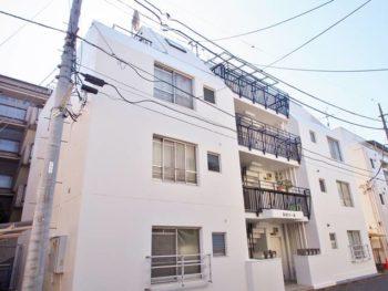 武蔵野市Sコーポ外壁塗装工事・施工後