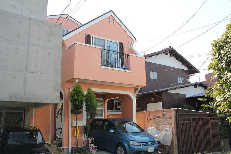 世田谷区I様邸 外壁・屋根塗装事例(2012年3月29日 完工)